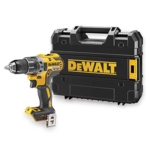 DeWalt DCD791NT-XJ Bohrschrauber mit 2-Gang Vollmetallgetriebe, LED-Arbeitsleuchte, 15-Stufiges Drehmomentmodul für Langzeiteinsatz geeignet, Lieferung ohne Akku und Ladegerät, 18 V