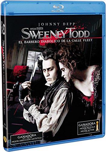 Sweeney Todd El Barbero Diabolico De La Calle Fleet Blu-Ray [Blu-ray]