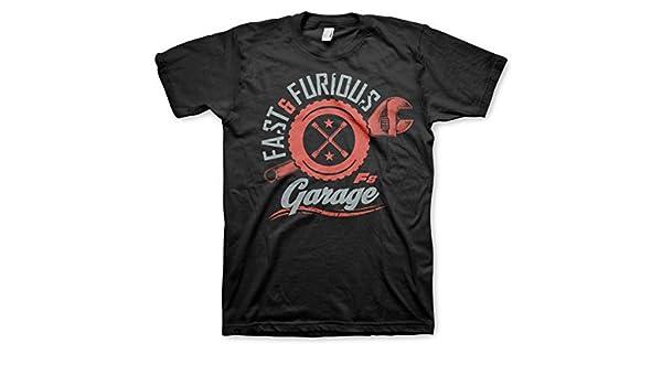 Garage T Shirts : Fast furious t shirt the fate of the furious garage schwarz
