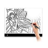 M. Way - Table à dessin lumineuse - Table LED super fine formats A3 et A4 -...