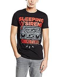 Plastic Head Sleeping with Sirens We Like It Loud, T-Shirt Homme