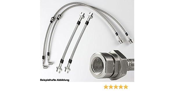 Stahlflex Bremsleitungen VW Passat//Variant Synchro// mit ABE eintragungsfrei