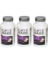 3Xbottle de cheveux Maxis Complément prise en charge plus rapide Croissance Plus Sain Plus douce cette perte de cheveux