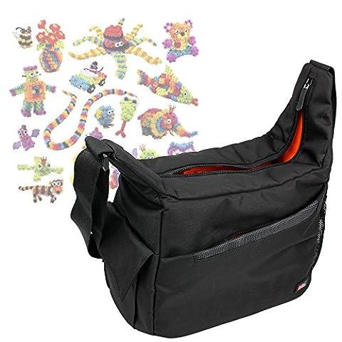 Besace de transport multi-poches pour Bunchems Jeu de Construction / Loisirs Créatifs 6026103 et leurs accessoires