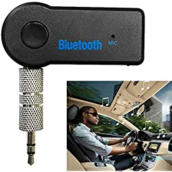 gadddrt Drahtlose Bluetooth 3,5 mm AUX Audio Stereo Musik Home Auto Empfänger Adapter Mic