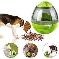 Yokunat Futterball Leckerli Interaktives Spielzeug Kugel Ball Hund Katze Haustiere Abgabe Belohnung Perfekte Geschenke (Grün)