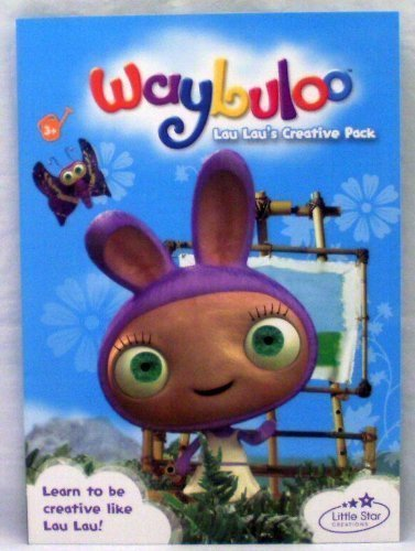 Waybuloo - Lau Lau: Creative Pack (Colouring, Stickers and Activities)