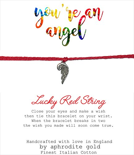 wish-bracelet-anklet-lucky-red-string-tibetan-charm-adjustable-youre-an-angel
