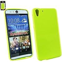 Emartbuy® HTC Desire Eye Shiny Gloss Gel Hülle Schutzhülle Case Cover Grün