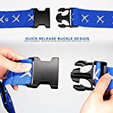 Luggage Straps ,Wellead Suitcase Belts 4 Pack Baggage Travel Luggage Strap Adjustable Hand Luggage Case Packing with Name Tag Slot Nylon Luggage Security Strap 5cm x 190 cm