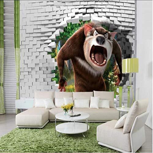 Tapeten Persönlichkeit Tapete Wandbild Wohnzimmer Schlafzimmer Sofa Fernseher Großer Mund Wanddekoration Wandbild-280X200CM - Wald Polster