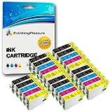 25 Premium Druckerpatronen für Epson Stylus S22 SX125 SX130 SX230 SX235W SX420W SX425W SX430W SX435W SX445W Office BX305F BX305FW Plus | kompatibel zu Epson T1281 T1282 T1283 T1284 (T1285)