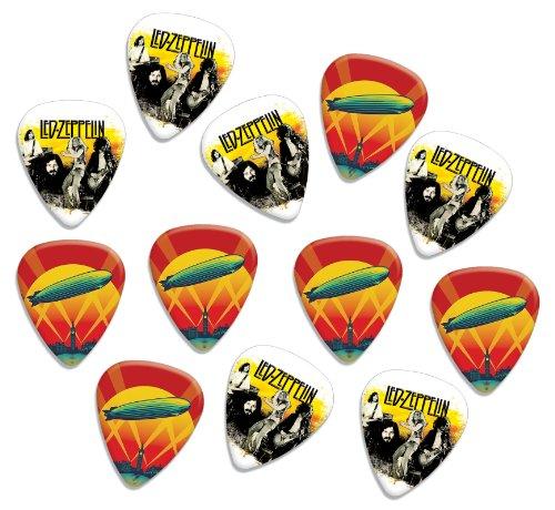 Led Zeppelin Loose Double Sided Guitar Plektrum Plektron Picks, Collection of 12 (Picks Zeppelin Led Guitar)