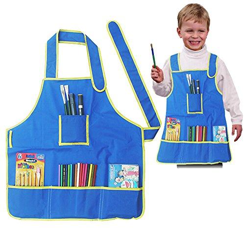 shzons Bambini Impermeabile Art Craft grembiule Smock per fai da te pittura disegno, cucina o in classe