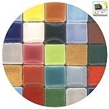 ALEA Mosaic Mosaik-Minis (10x10x3mm), 250 Stück, Buntmix, MXAL