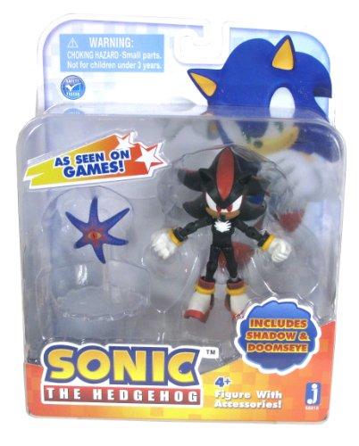 Sonic the Hedgehog Zoll-Schatten und doomseye Action Figur (schwarz) (Knuckles Ein Igel Ist)