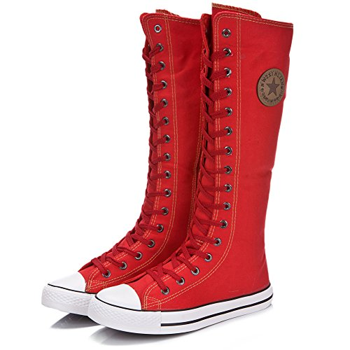 Unknown , Chukka boots femme Rouge