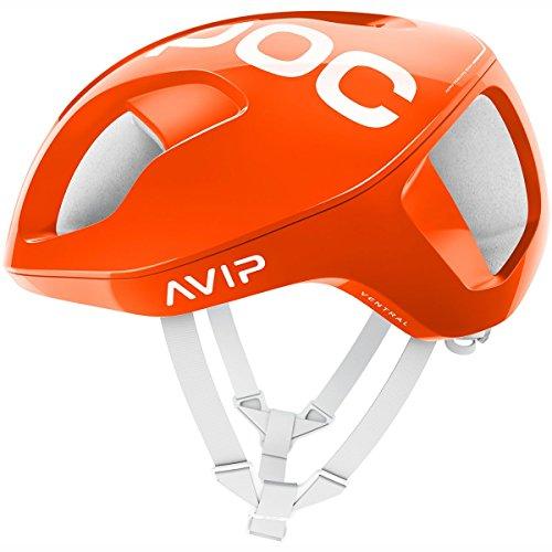 POC Ventral Spin Fahrradhelm Unisex Erwachsene, Orange Zink Orange, L/56-62 cm
