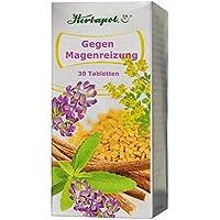 Gegen Magenreizung, 30 Tabl. mit Bockshornkleesamen und Süßholz, bei Magenschmerzen wegen gereizter Magenschleimhaut... preisvergleich bei billige-tabletten.eu