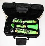 Cherrystone 4260180885804 tolle Bb Klarinette mit Koffer/Zubehör grün