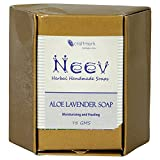 Neev Aloe Lavender Soap- Moisturizing an...