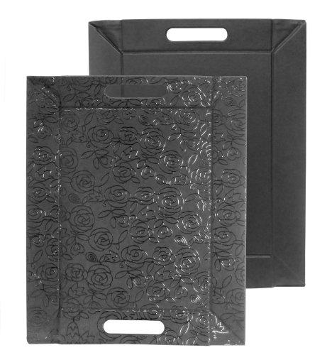 FreeForm Petit plateau multifonctions en similicuir rose/noir 45 x 35 cm