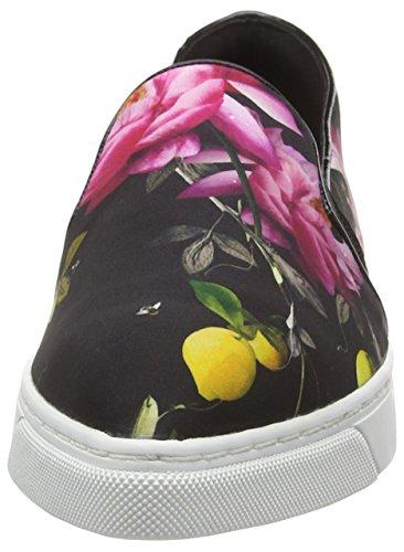 Ted Baker Thfia, Baskets Basses Femme Multicolore - Multicolor (Citrus Bloom)