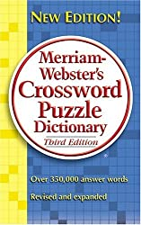 Merriam-webster's Crossword Puzzle Dictionary by Merriam-Webster (2005-06-24)