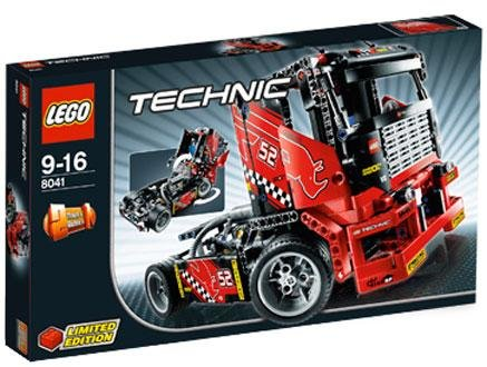 Preisvergleich Produktbild Lego 8041 Technic Race Truck - Limited Edition by LEGO (English Manual)