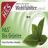 H&s Bio Grüntee Filterbeutel 20 stk