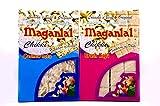 #6: Maganlal Pack of 2 Chikkis - Kaju & Kaju Crush Chikki - 400 gm