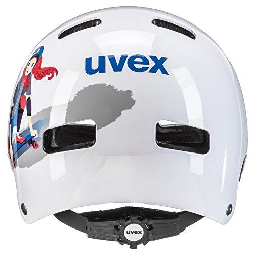 Uvex Kinder Kid 3 Fahrradhelm, White Skate, 55-58 cm - 2