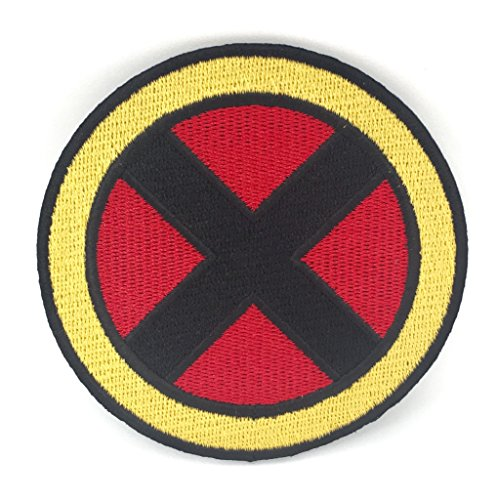 X-Men Patch Embroidered Iron on Badge (7,6 cm) Kostüm Abzeichen Aufnäher Motiv Xmen (Gambit Kostüme)
