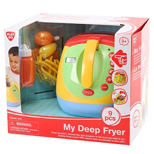 Playgo visualizzarlogo 3210–la mia cucina friggitrice, giocattolo, 9pezzi