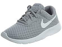 Nike Tanjun (PS): Scarpe da corsa per bambini, Grigio (Gris (Wolf Grey / White White)), 31