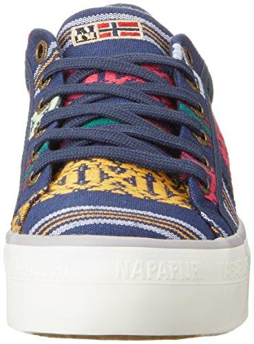 marinha Sneakers De Impressão Étnica Mehrfarbig Damen Astrid Napapijri 8qwxnBIzE