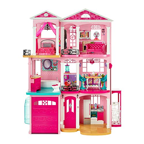 Mattel Disney Dreamhouse casa de muñecas - Casas de muñecas (AAA, 876 mm, 762 mm, 215 mm, Caja)
