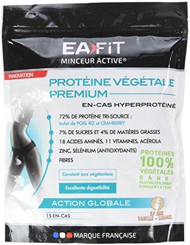 EAFIT Protéine Végétale Premium Vanille Caramel 450 g