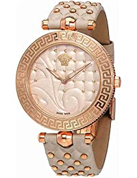 Versace Vanitas VK7730017 Ladies PVD Rose Gold Plated Case Swiss Watch