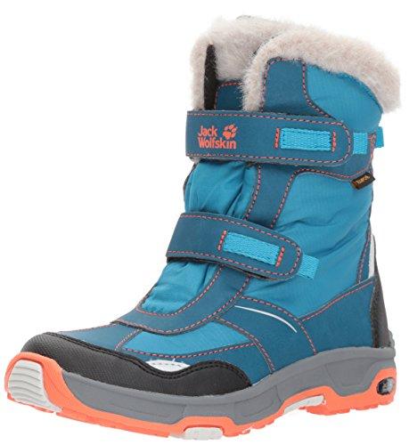 Jack Wolfskin Mädchen Girls Snow Flake Texapore Trekking-& Wanderstiefel, Blau (ICY Lake Blue), 28 EU
