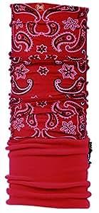 Buff-Mütze, Polar, rojo (Red), 53 - 62 cm