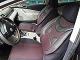 Sitzbezüge k-maniac | Universal schwarz-rot | Autositzbezüge Set Komplett | Autozubehör Innenraum | Auto Zubehör für Frauen und Männer | NO2125334 | Kfz Tuning | Sitzbezug | Sitzschoner