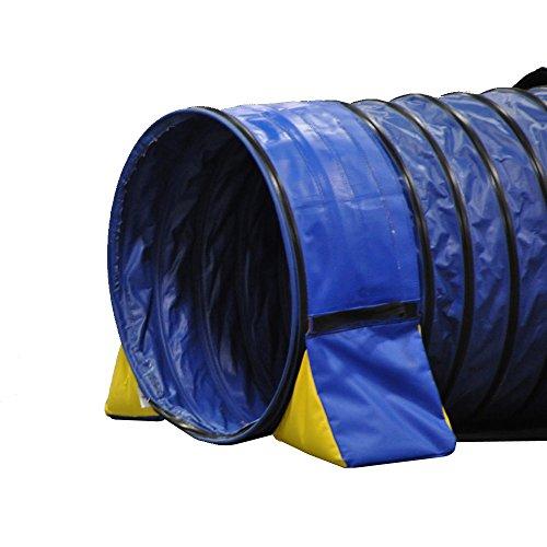 Cool Läufer Tunnel Umarmung Nicht einzuschnüren PVC Dog Agility Tunnel Tasche Set