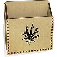 Azeeda 'Leaf' Wooden Letter Holder/Box (LH00033868)