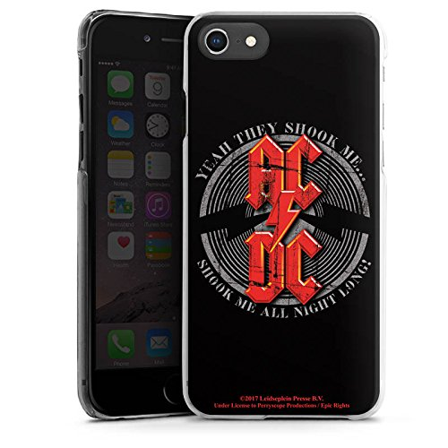 Apple iPhone 5c Silikon Hülle Case Schutzhülle ACDC All night long Merchandise Fanartikel Hard Case transparent