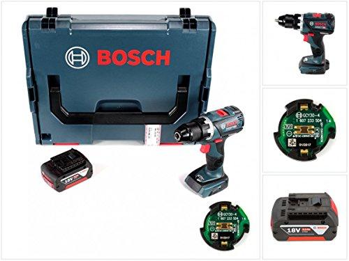 Preisvergleich Produktbild Bosch GSR 18 V-60 C Professional Brushless Li-Ion Akku Bohrschrauber in L-Boxx mit GCY 30-4 Professional Connectivity Modul + 1x GBA 5,0 Ah Akku