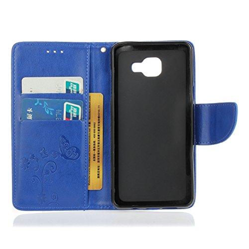 Meet de pour Apple iphone 6 Plus / iphone 6S Plus Soft TPU Case ,(fleurs papillon) Apple iphone 6 Plus / iphone 6S Plus Protection, Apple iphone 6 Plus / iphone 6S Plus Etui, Apple iphone 6 Plus / iph bleu