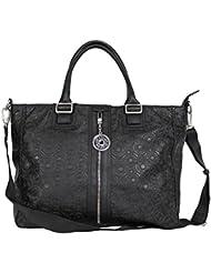 Grand sac à main femme Levi's noir imprimé Creekside - Noir