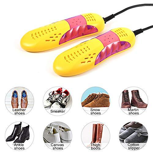 Yosoo asciuga scarpe elettrico Scalda essiccatore deodorante sterilizzatore deumidificatore,Apparecchio riscaldamento e asciugatura scarpe