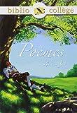 Bibliocollège - Poèmes 4e - 3e